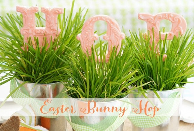 """Hop To It"" ~ It's an Easter Bunny Party!"