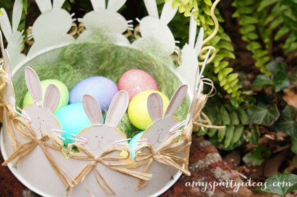 Easter Egg Hunt Signs & Party Ideas from AmysPartyIdeas.com