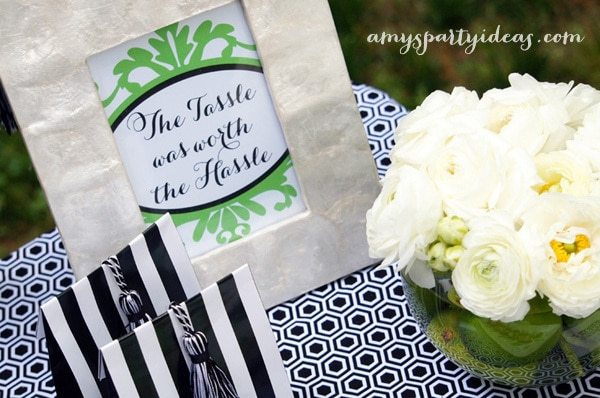 Graduation Party Ideas from @AmysPartyIdeas | AmysPartyIdeas.com