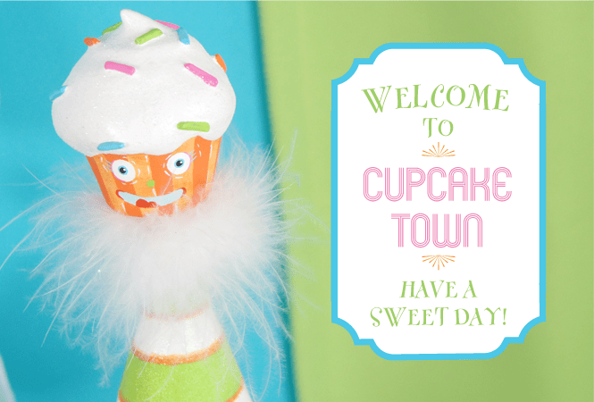 Welcome to Cupcake Town!