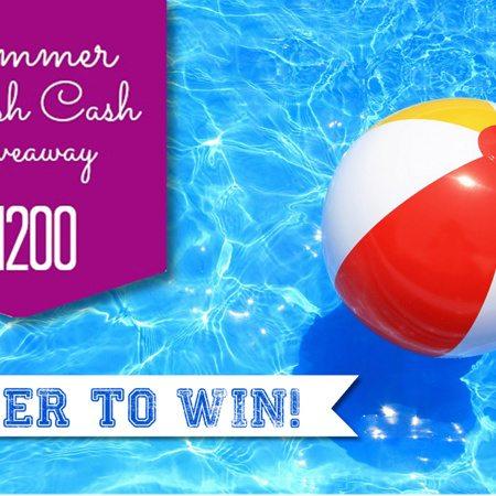 Splash CASH Giveaway ~ WIN $1200 CASH