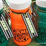game truck party - printable water bottle labels | Game Truck Party Ideas from AmysPartyIdeas.com | #gametruck #videogame #party #ideas
