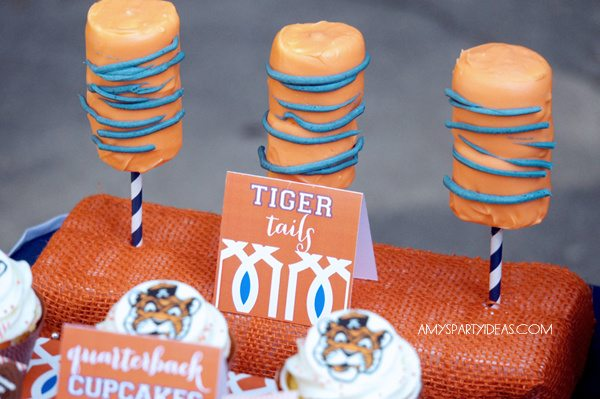 Auburn Tailgate Football Party Ideas #wareagletailgating #auburn #football #tailgate #party