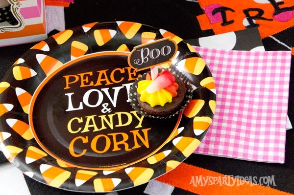 Candy-Corn-Halloween-Party_Candy-Corn-Party-Plates-1 @AmysPartyIdeas #halloween #party #ideas #candycorn