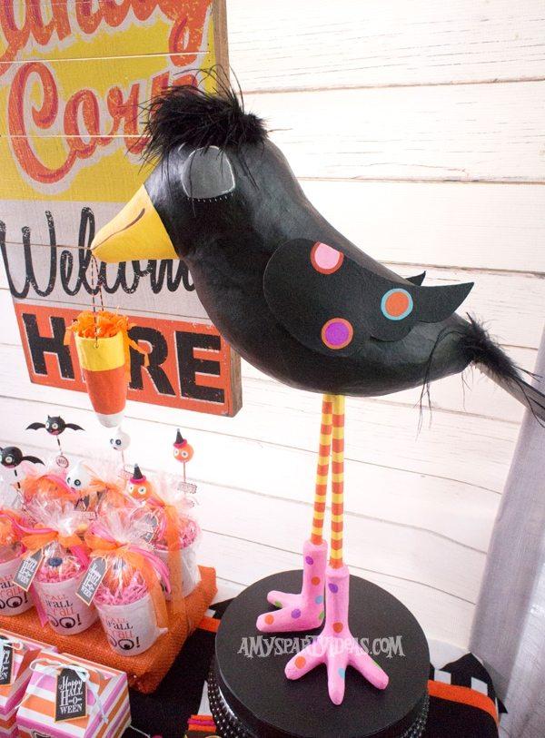 Candy-Corn-Halloween-Party_Crowdilla-(9) @AmysPartyIdeas #halloween #party #ideas #candycorn