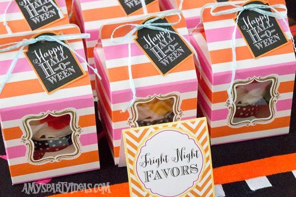 Candy-Corn-Halloween-Party_Cupcake-Favor-Boxes-1 @AmysPartyIdeas #halloween #party #ideas #candycorn