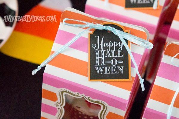Candy-Corn-Halloween-Party_Cupcake-Favor-Boxes-2 @AmysPartyIdeas #halloween #party #ideas #candycorn