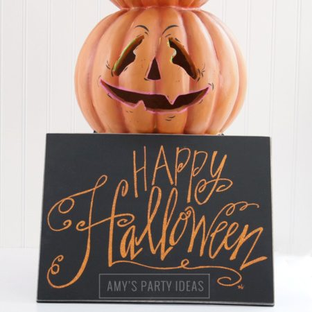 DIY Pumpkin Makeover #Homegoodshappy