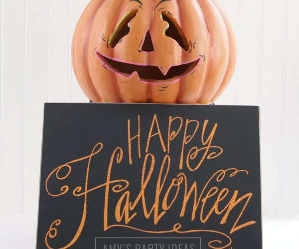 DIY Pumpkin Makeover #Homegoodshappy