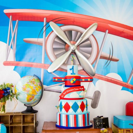 Vintage Airplane Party {Featured Party}