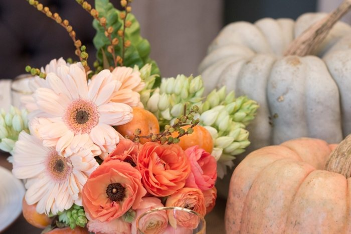 Thanksgiving Gathering Party Ideas from AmysPartyIdesa.com and Swoozies.com | Thanksgiving Centerpiece