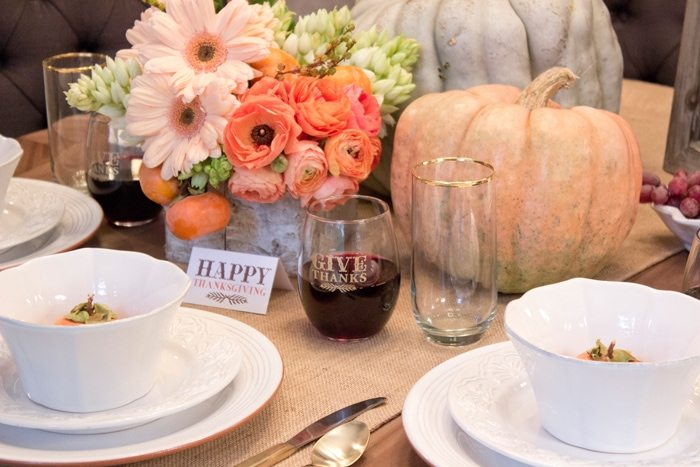 Thanksgiving Gathering Party Ideas from AmysPartyIdesa.com and Swoozies.com | Thanksgiving Stemless Wine Glasses