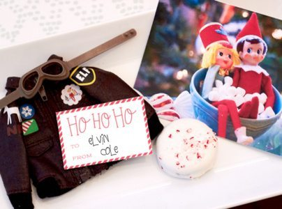 Elf Brunch Party Ideas from AmysPartyIdeas.com |Elf on the Shelf Costumes | Coton-Colors.com | #cotoncolors #elfreturnweek