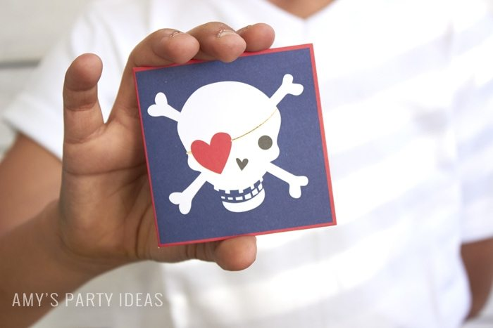 Classroom Valentines from Swoozies.com as seen on AmysPartyIdeas.com #classroomvalentines #valentines #pirate