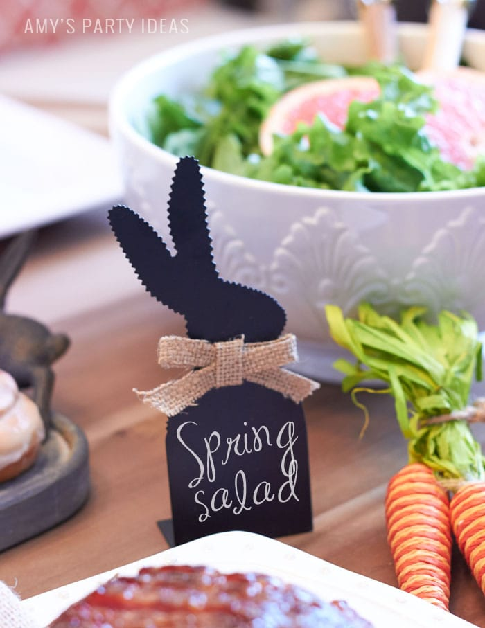 Family Easter Brunch Ideas from AmysPartyIdeas.com | Swoozies.com | #Easter #Bunny