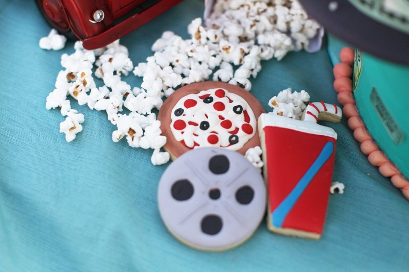 Drive-In Movie party ideas | Tween Girl Birthday Party Ideas | Sweet Sixteen party ideas | Gina Lee Photography | as seen on AmysPartyIdeas.com