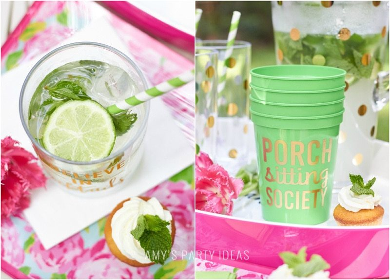 Tips for hosting a Glam Garden party | #swoozies | #katespade | AmysPartyIdeas.com | Amy's Party Ideas