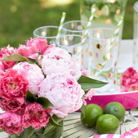 Glam Garden Party with Kate Spade