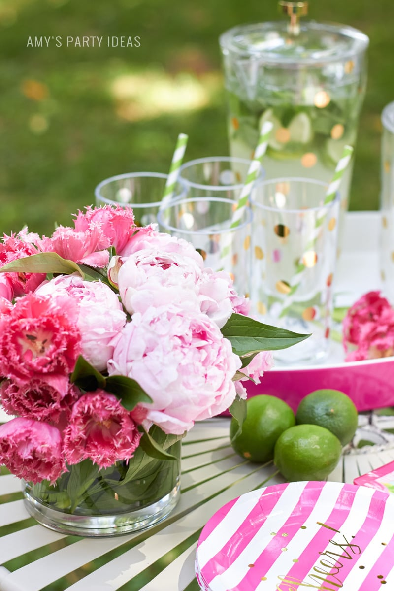 Glam Garden Party With Kate Spade Amys Party Ideas