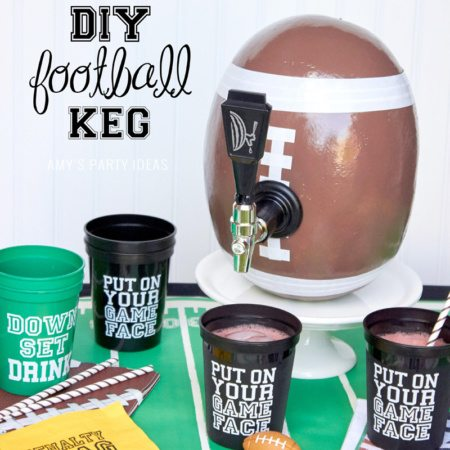 DIY Football Keg