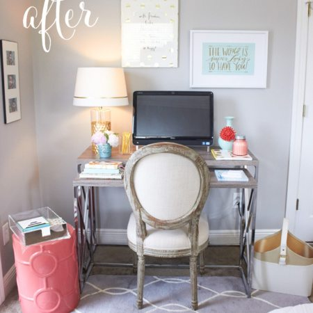 Back to School & An Office Makeover