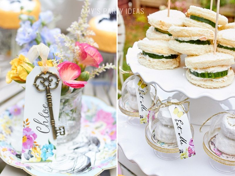 Alice in Wonderalnd Tea Party Ideas  |  Talking Tables  |  AmysPartyIdeas.com  |  #aliceinwonderland #talkingtables #trulyalice #teaparty #partyideas  |  Truly Alice Party Collection  | GIVEAWAY #giveaway