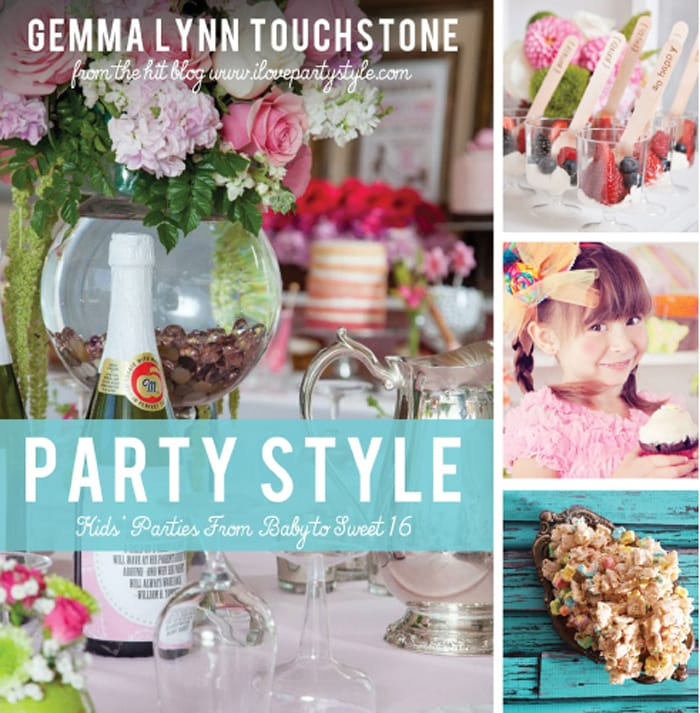 Party Style Book Kids Party Ideas Gemma Touchstone as seen on AmysPartyIdeas.com