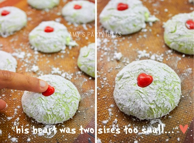 Grinch Cookies Amy S Party Ideas
