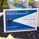 Outdoor Movie Night Party Printables