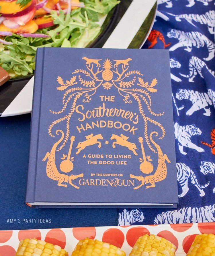 The Southern Handbook | Auburn Football Tailgate Ideas | Saturday down South | Football Tailgating | Football Watch Party | AmysPartyIdeas.com | Swooies.com