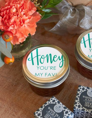Local Honey homemade gift ideas | Host a Favorite Things Brunch from AmysPartyIdeas.com | Holiday Entertaining Ideas | Gift Party Ideas | Barista Bar | #StarbucksCaffeLatte #MyStarbucksatHome