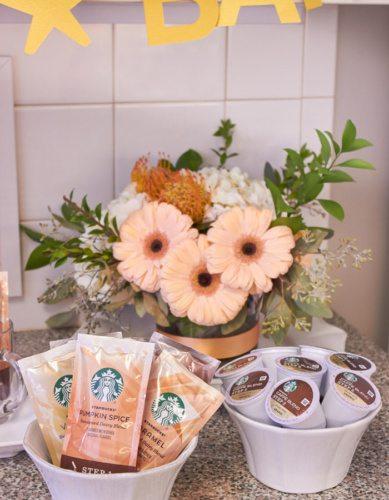 Host a Favorite Things Brunch from AmysPartyIdeas.com | Holiday Entertaining Ideas | Gift Party Ideas | Barista Bar | #StarbucksCaffeLatte #MyStarbucksatHome