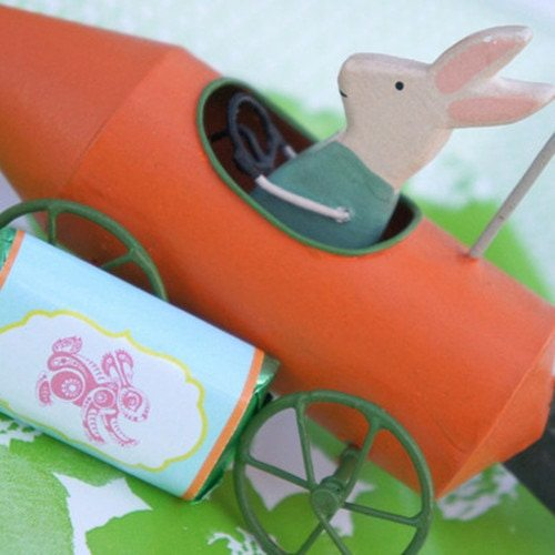 Hop To It Easter Party Printable Candy Wrappers