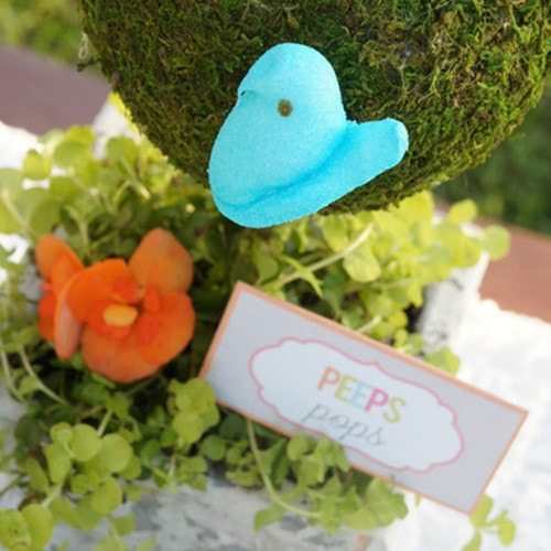 Easter Party Table Tents Printables