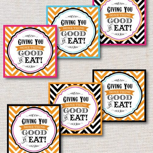 #Pumpkin Carving Party Ideas & #Party #Printables for #Halloween Favor & Treat Tags