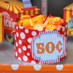 Circus Carnival Birthday Party Ideas | Prize Prices | Printable Prize Signs