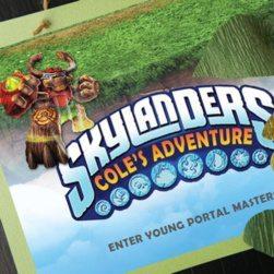 Skylanders GIANTS Welcome Door Sign