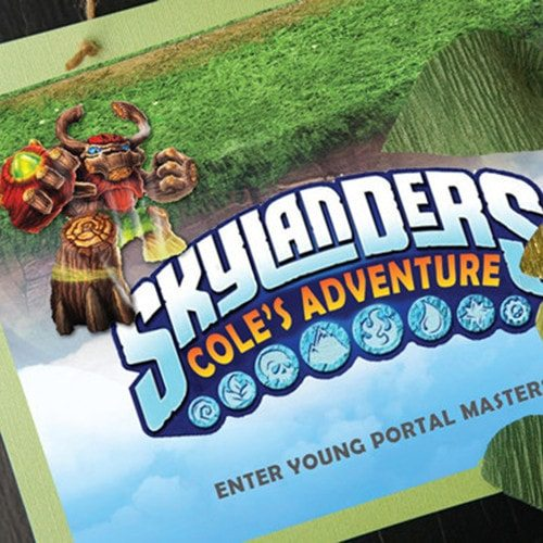 Skylanders GIANTS Welcome Door Sign