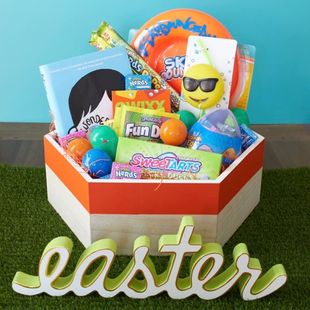 Want an Easter basket that hangs around long after thehellip