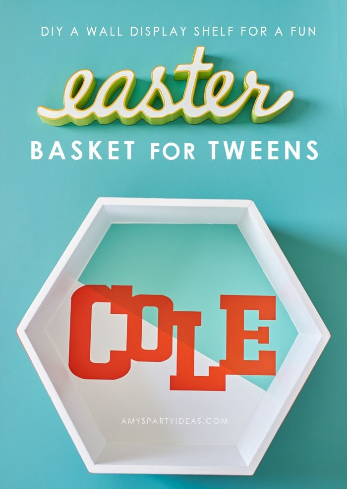 DIY Easter Basket Ideas for Tweens from AmysPartyIdeas.com | #SpringItOn #NestleKitchen #ad