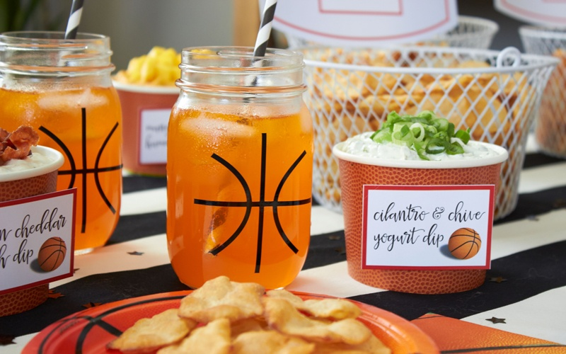 Easy Basketball Snacks For Your Watch Party Amy S Party