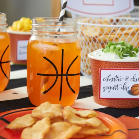 Easy Basketball Snacks for Your Watch Party
