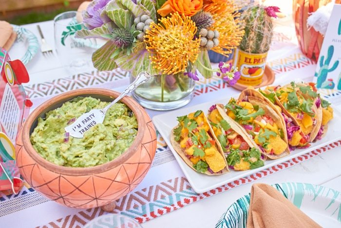 Cactus Fiesta Party Ideas | Cinco de Mayo party ideas | Mexican party or wedding | Outdoor Entertaining | As seen on AmysPartyIdeas.com and Swoozies.com