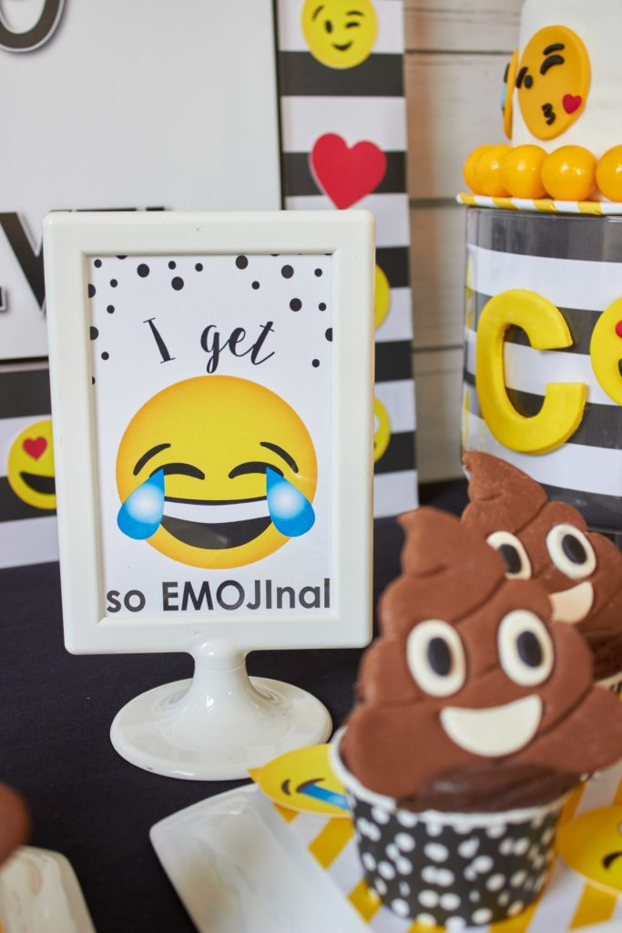 Emoji Party Ideas Printables As Seen On AmysPartyIdeasEmoji