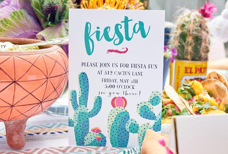 Cactus Fiesta Party
