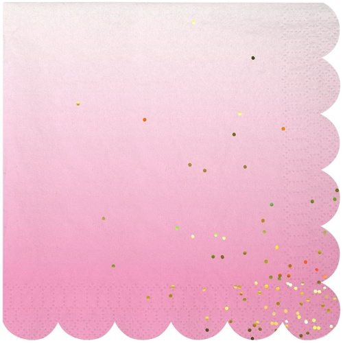 Ombre Party Napkins for your Unicorn Party