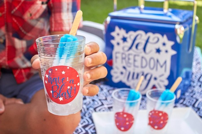 Last minute Fourth of July Party & Entertaining Ideas | The Original Bomb Pop® | from AmysPartyIdeas.com | Free Printables | Instant Download Party Supplies