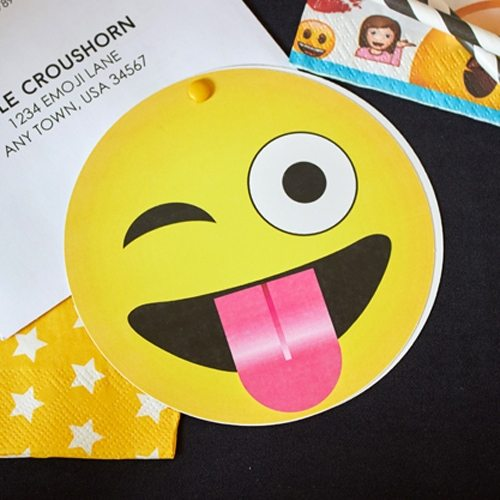 Emoji Party Printable Invitations From LuluCole For AmysPartyIdeas