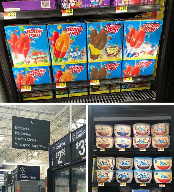 Walmart The Original Bomb Pop® & Blue Bunny® Bunny Tracks®