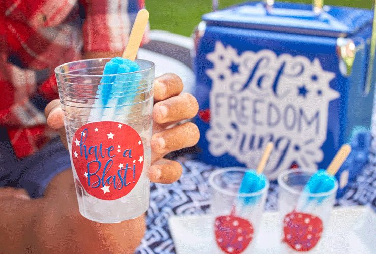 DIY Fourth of July Cooler